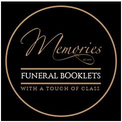 memories funeral booklets Logo